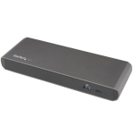 StarTech.com Thunderbolt 3 Dock Dual Monitor Displayport 4K 60Hz TB3 Laptop Docking Station 85W Power Delivery 3-Port USB 3.0 Hub, Ethernet, Audio Single 5K 60Hz Windows & Mac