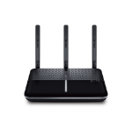 TP-LINK Archer VR600 wireless router Dual-band (2.4 GHz / 5 GHz) Gigabit Ethernet 3G 4G Black,Silver
