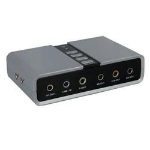 StarTech.com ICUSBAUDIO7D audio card 7.1 channels USB