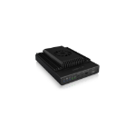 ICY BOX IB-2912MCL-C31 storage drive enclosure SSD enclosure Black M.2