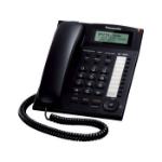 Panasonic KX-T7716X-B Analog telephone Identificador de llamadas Negro teléfono dir