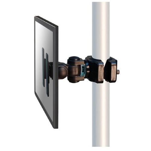 "Newstar Monitor Mount for mounting on poles (diameter 35-60 mm) for single 10""-30"" Screen - Black"