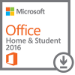 Microsoft Office Home & Student 2016 Full 1user(s) Multilingual