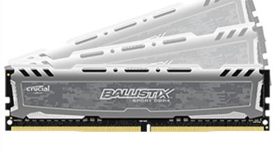 Crucial Ballistix Sport LT 64GB DDR4 2400MHz memory module