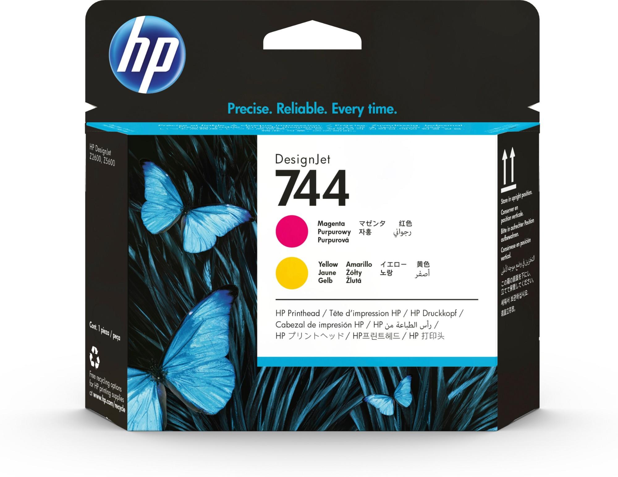 HP F9J87A (744) Printhead magenta
