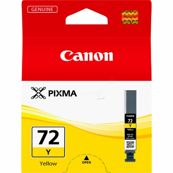 Canon 6406B001 (PGI-72 Y) Ink cartridge yellow, 14ml