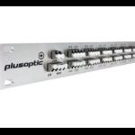 Plusoptic MD-4CH-1RU-DWDM-DX wave division multiplexer