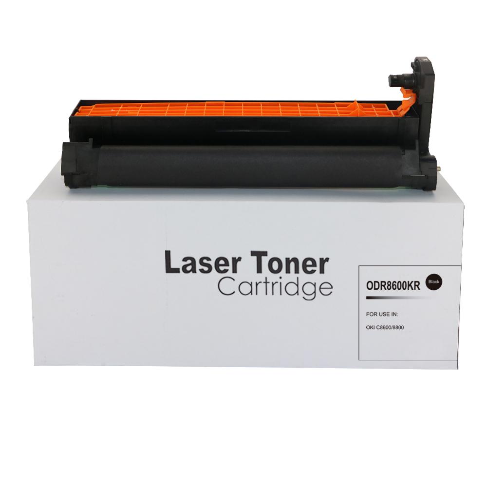 Remanufactured OKI 43487712 Black Toner Cartridge