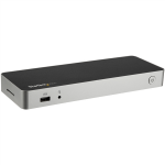 StarTech.com USB-C Dual-4K docking station voor laptops 60W USB Power Delivery SD kaartlezer