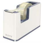 Leitz WOW Polystyrene Metallic,White tape dispenser