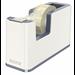 Leitz WOW Polystyrene Metallic,White tape dispenser