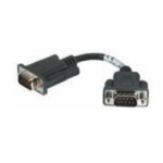 Zebra CABLE ASSEMBLY MM CABLE DB15M DB9M Black serial cable