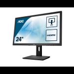 "AOC Pro-line E2475PWJ computer monitor 59.9 cm (23.6"") 1920 x 1080 pixels Full HD LCD Black"