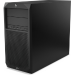 HP Z2 G4 8th gen Intel® Core™ i7 i7-8700 8 GB DDR4-SDRAM 1000 GB HDD Tower Black Workstation Windows 10 Pro
