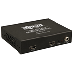 Tripp Lite 4-Port HDMI over Cat5/6 Extender/Splitter, Box-Style Transmitter, Video/Audio, 1080/60p, Intl Power Supply, Up to 61 m (200-ft.)