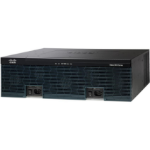 Cisco 3925 Ethernet LAN Zwart, Grijs bedrade router
