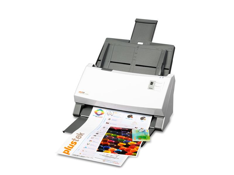 Plustek SmartOffice PS406U ADF scanner 600 x 600DPI A4 Grey, White