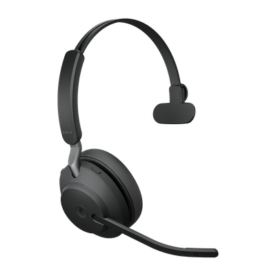 Jabra Evolve2 65, MS Mono Auriculares Diadema Negro