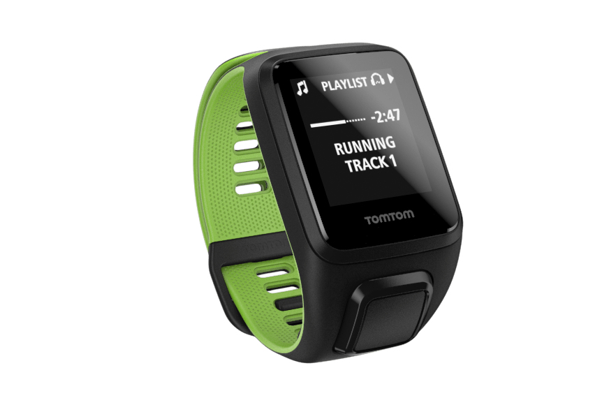 TomTom Runner 3 Cardio + Music + Headphones Bluetooth Black, Green sport watch