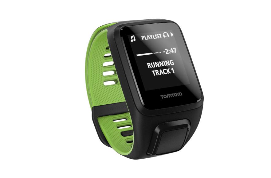TomTom Runner 3 Cardio + Music + Headphones Bluetooth Black, Green sport watch