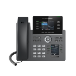 Grandstream Networks GRP2614 IP phone Black Wired handset TFT 4 lines Wi-Fi