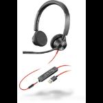 POLY Blackwire 3325 Headset Head-band Black 213938-01