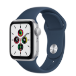 Apple Watch SE 40 mm OLED Silver GPS (satellite)