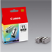 Canon 8190A002 (BCI-15 BK) Ink cartridge black, 80 pages @ 5% coverage, 5ml, Pack qty 2