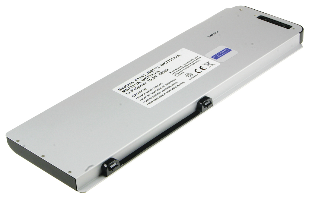 2-Power 10.8v, 6 cell, 50Wh Laptop Battery - replaces A1281