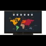 "Sharp PN-65HC1 interactive whiteboard 165.1 cm (65"") 3840 x 2160 pixels Touchscreen Black HDMI"