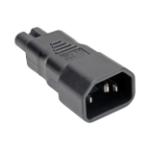 Tripp Lite P016-000 power plug adapter C14 C7 Black