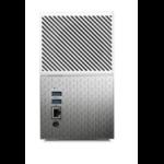 WESTERN DIGITAL My Cloud Home Duo 4TB Dual-Drive Personal Cloud Storage (NAS),RAID1,Media Server,File Sync,PC/Mac Ba