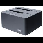 "Akasa (DuoDock X3) Dual Bay USB 3.1 Gen1 Clone Docking Station 2.5""/3.5"" SATA"