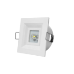 SiCurio Escape Spot Autotest Recessed lighting spot White 3 W
