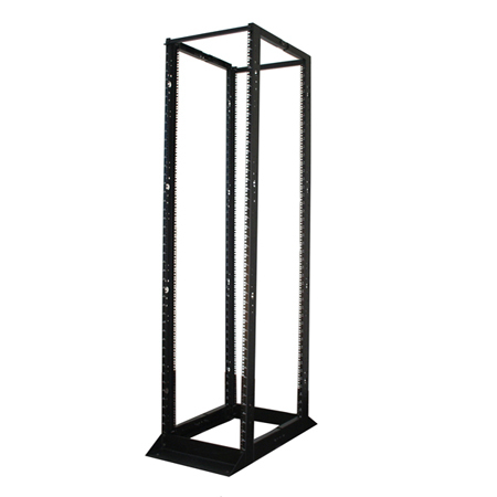 Tripp Lite 45U SmartRack 4-Post Open Frame Rack Cabinet Square Holes