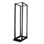 Tripp Lite SR4POST Freestanding Black Rack
