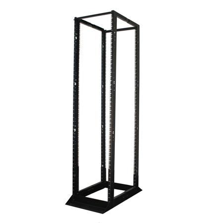 Tripp Lite 45U SmartRack 4-Post Open Frame Rack Cabinet Square Holes