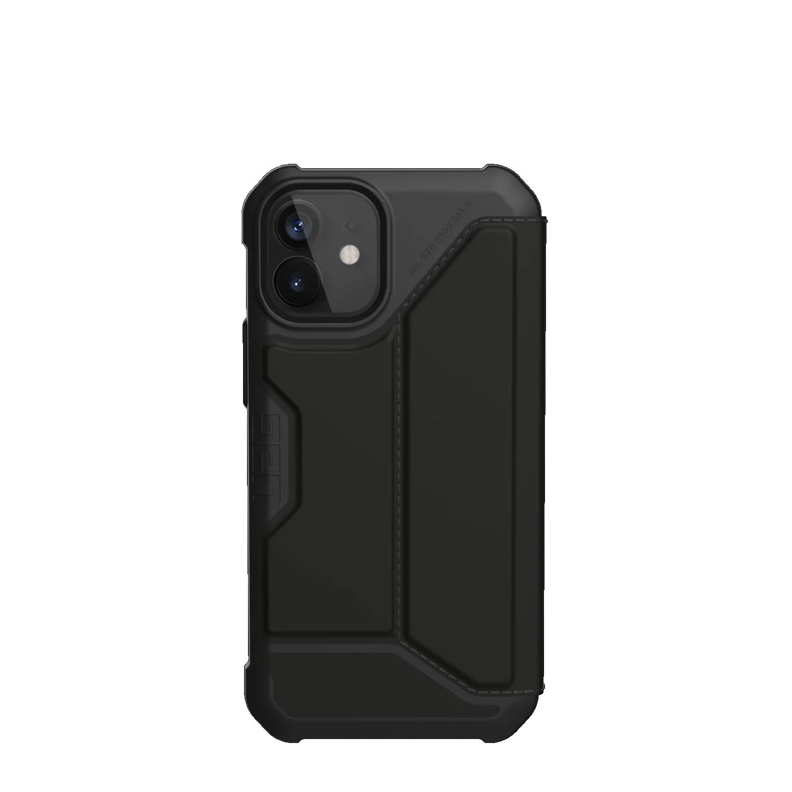 "Urban Armor Gear Metropolis funda para teléfono móvil 13,7 cm (5.4"") Folio Negro"