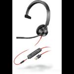 POLY Blackwire 3315 Headset Head-band Black