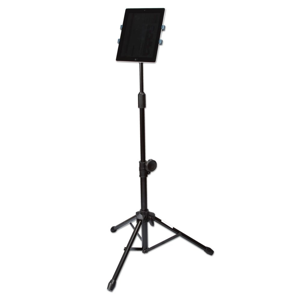 PORTABLE TABLET TRIPOD STAND FOR USE WITH 7-10 TABLETS