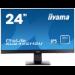 "iiyama ProLite XU2492HSU LED display 60.5 cm (23.8"") Full HD Flat Matt Black"