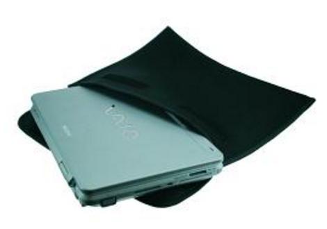 "2-Power BAG0017B 17"" Sleeve case Black notebook case"
