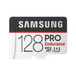 Samsung PRO Endurance micro SDCard (SD Adapter) 128GB