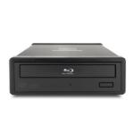 Kanguru USB3 BD-RE Blu-ray Disk Burner 16x optical disc drive Blu-Ray DVD Combo Black