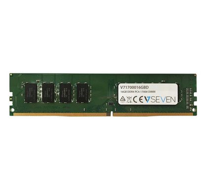 V7 16GB DDR4 PC4-17000 - 2133Mhz DIMM Desktop módulo de memoria - V71700016GBD