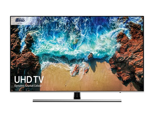 "Samsung Series 8 UE55NU8000TXXU LED TV 139.7 cm (55"") 4K Ultra HD Smart TV Wi-Fi Black, Silver"