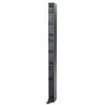 Rack PDU, Basic, Zero U, 14.4kW, 208 V, (6) C19 & (3) C13, High Temp