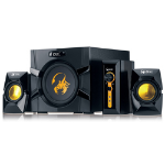 Genius SW-G2.1 3000 2.1channels 70W Black speaker set