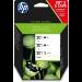 HP Pack de ahorro de 3 cartuchos de tinta original 301 negro (2)/tricolor (1)