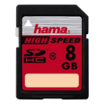 Hama 8GB SDHC memory card